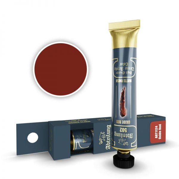 Abteilung 502 Dense Acrylic Paint Oxide Red ABT1124