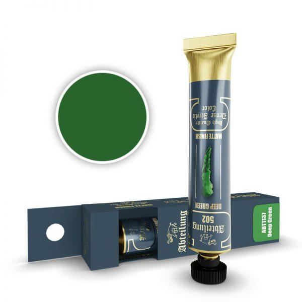 Abteilung 502 Dense Acrylic Paint Deep Green ABT1137