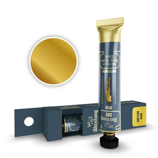 Abteilung 502 Dense Acrylic Paint Gold ABT1149