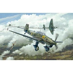 Italeri Junkers Ju87B Stuka Battle of Britain 1/48 Scale 2807