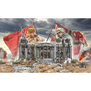Italeri Fall of the Reichstag Berlin 1945 Battle Set 6195