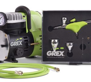 Grex GCK04 Airbrush Combo Kit with Genesis.XSi AC1810-A Compressor Accessories
