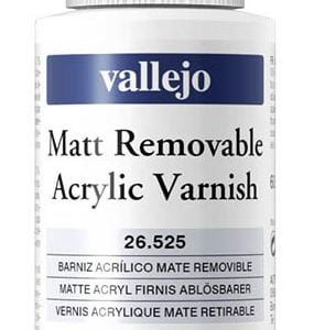 Vallejo Matt Removable Acrylic Varnish 60ml 26525