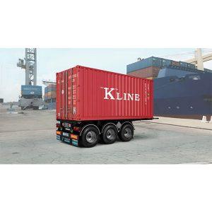 Italeri 20 ft Container Trailer 1/24 Scale 3887