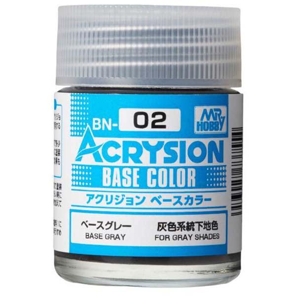 Mr Hobby Acrysion Base Color Base Gray BN02