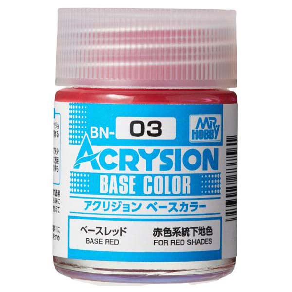 Mr Hobby Acrysion Base Color Base Red BN03