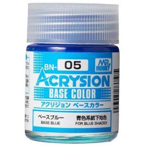 Mr Hobby Acrysion Base Color Base Blue BN05