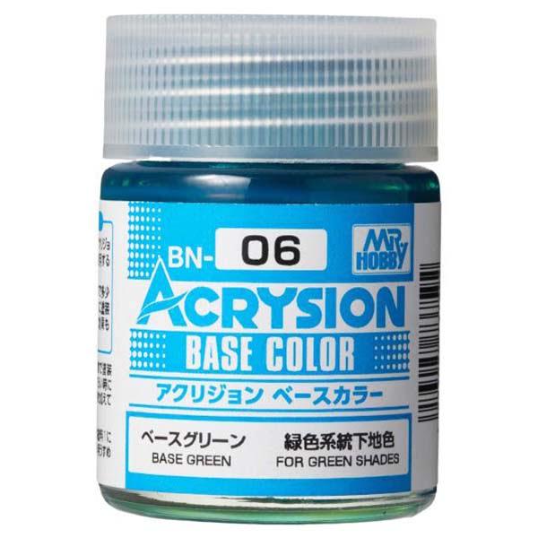 Mr Hobby Acrysion Base Color Base Green BN06