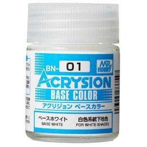 Mr Hobby Acrysion Base Color Base White BN01