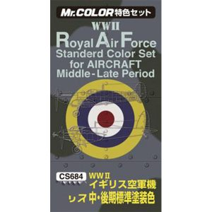 Mr Color RAF Color Late Ver. for Aircraft WW2 CS684