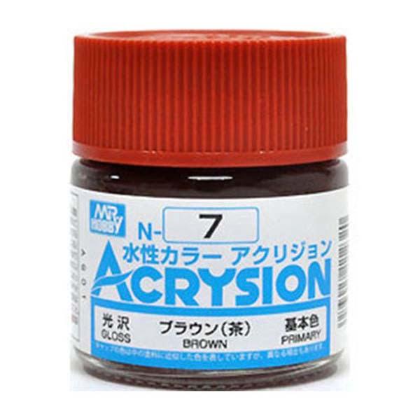 Mr Hobby Acrysion Brown Gloss Primary N7