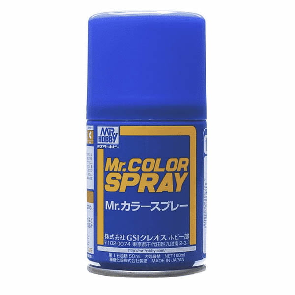 Mr Color Spray S110 Character Blue Semi-Gloss Primary S110