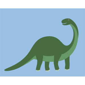 Pink Picasso Kids Paint by Numbers Dinosaur PPK-KIDSDINO