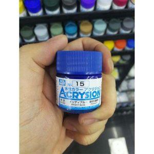 Mr Hobby Acrysion Bright Blue Gloss Primary N15