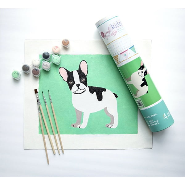 Pink Picasso Kids Paint by Numbers Dog PPK-KIDSDOG