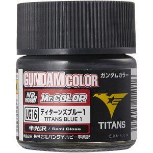 Mr Color G Gundam Color MS Titans Blue 1 10ml UG16