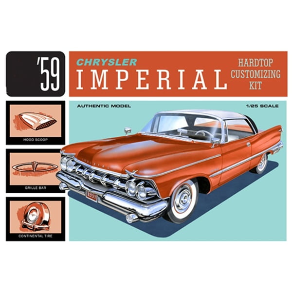 AMT 1/25 Scale 1959 Chrysler Imperial 1136