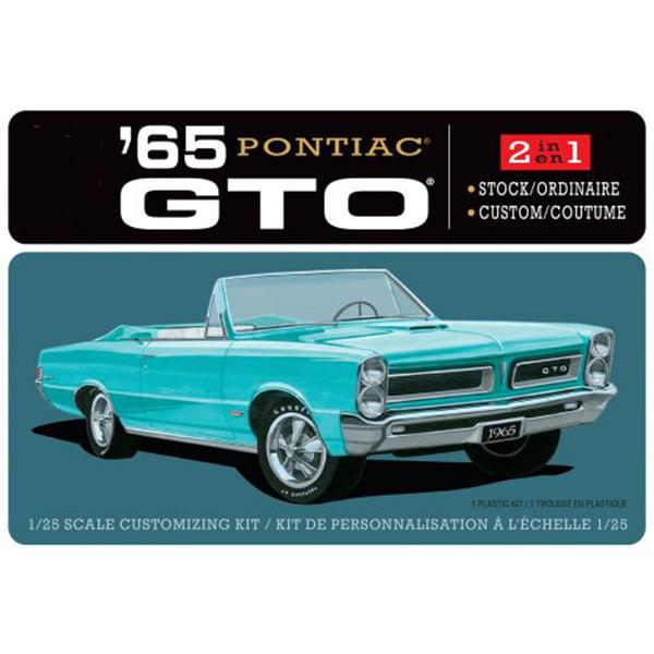 AMT 1/25 Scale 1965 Pontiac GTO 2T 1191