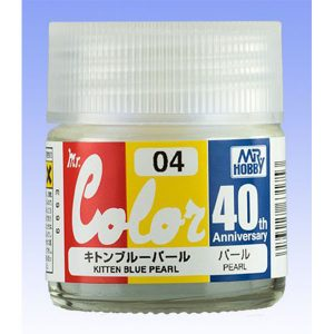 Mr Color 40th Anniversary Kitten Blue Pearl AVC04