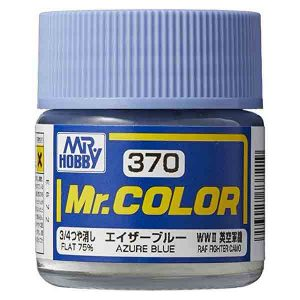 Mr Color Azure Blue RAF Standard Color WWII Early C370