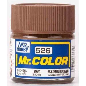 Mr Color Brown Imperial Japanese Army Tank late Camouflage C526