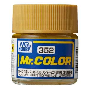 Mr Color Chromate Yellow Primer FS334 81 US Army Airforce Aircraft Interior C352