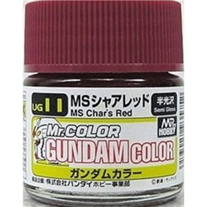 Mr Color G Gundam Color MS Char Red Char Custom 10ml UG11