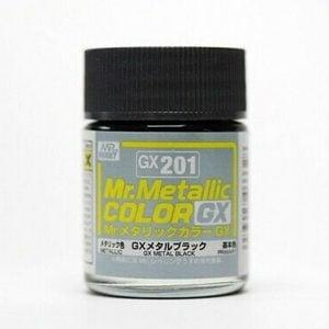 Mr Color Metal Black GX201