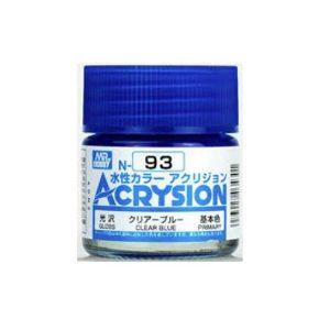 Mr Hobby Acrysion Clear Blue Gloss Primary N93
