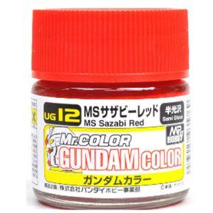 Mr Color G Gundam Color MS Sazabi Red Char Custom 10ml UG12