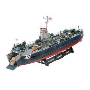 Revell 1:144 Scale US Navy Landing Ship Med RVG 05169