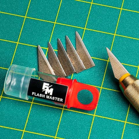 Flash Master Blades Pack of 10 in handle