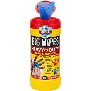 Big Wipes Heavy Duty Wipes 80 Pack 6002 0046
