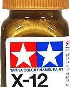 Tamiya Enamel Paint X-12 X12 Gloss Gold Leaf 80012