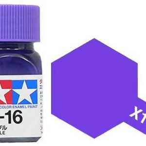 Tamiya Enamel Paint X-16 X16 Gloss Purple 80016