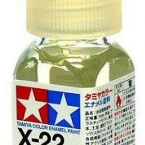 Tamiya Enamel Paint X-22 X22 Clear 80022